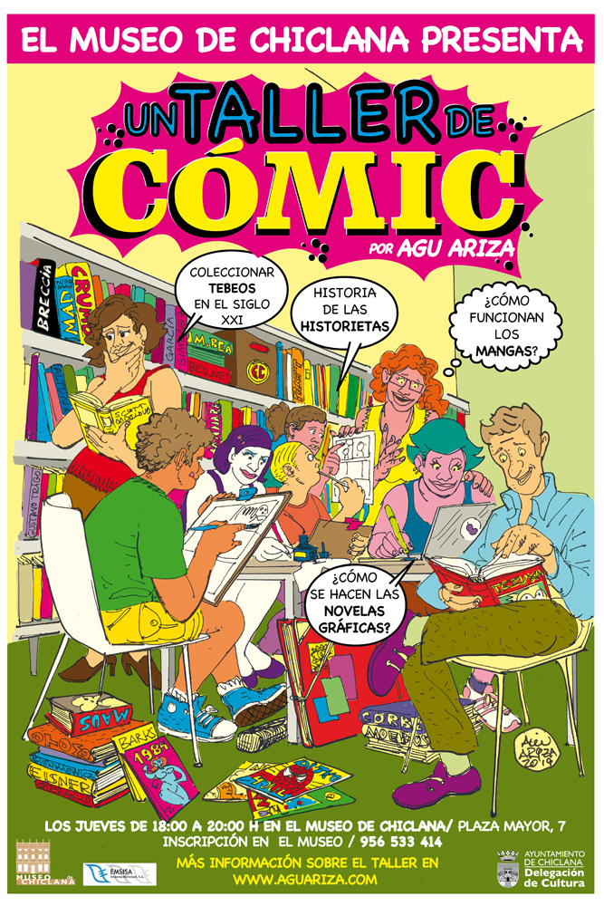 CARTEL TALLER COMIC